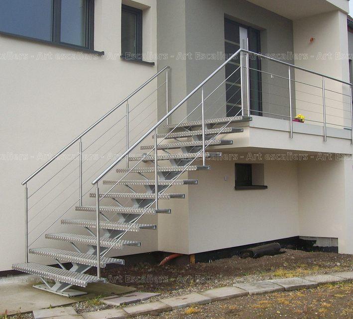 mastro escalier limon central art escaliers. Black Bedroom Furniture Sets. Home Design Ideas