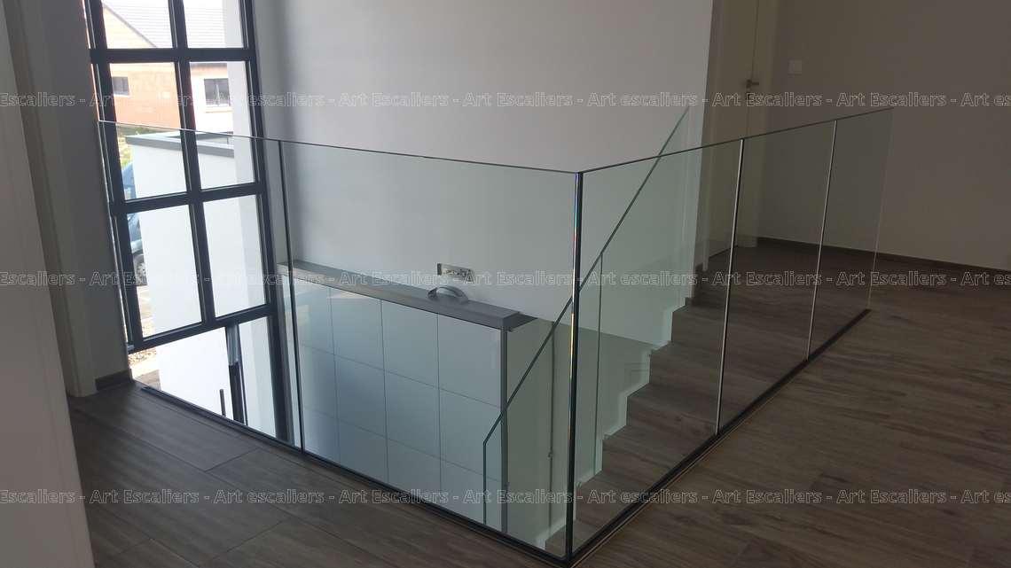 garde corps verre sans poteaux yutz art escaliers. Black Bedroom Furniture Sets. Home Design Ideas