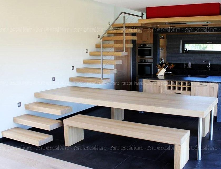 futura escalier autoporteur art escaliers. Black Bedroom Furniture Sets. Home Design Ideas