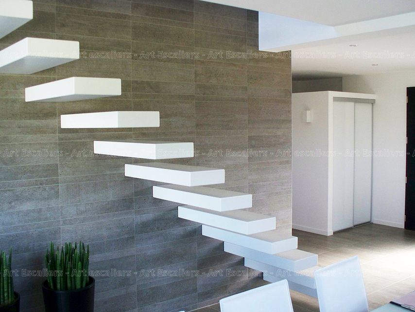 futura escalier autoporteur art escaliers. Black Bedroom Furniture Sets. Home Design Ideas