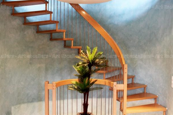 escalier_design-suspendu_2-quarts-tournant_bois-hetre_ballustre-inox_01-artescaliers