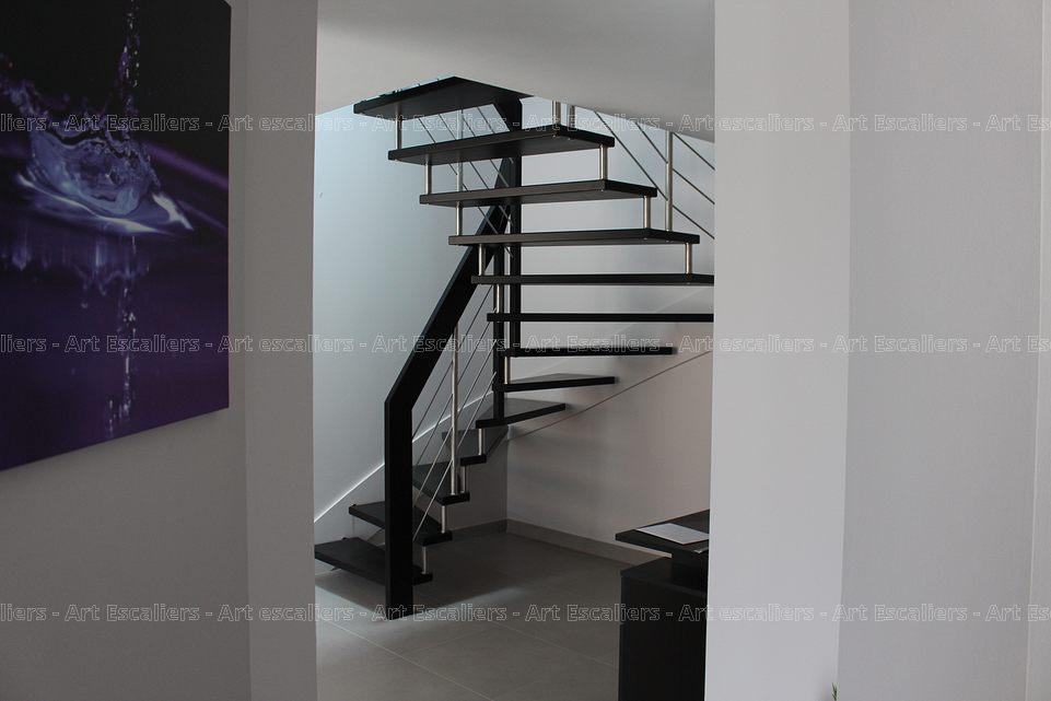 Lissa Escalier Suspendu Au Design Moderne Et L Ger Art Escaliers