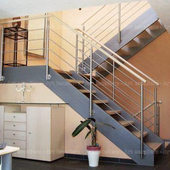 escalier_traditionnel_2-quarts-tournant_bois-laque_garde-corps-inox_01-artescaliers