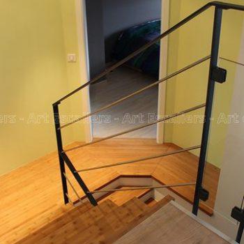 escalier_design_habillage_2-quarts-tournants_palier_bois-bambou-artescaliers