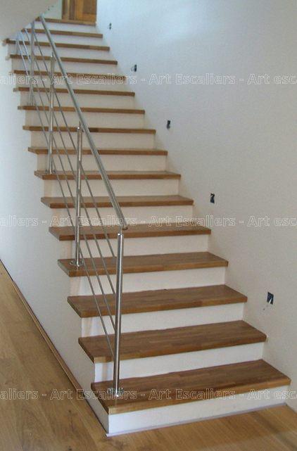 habillage de marches sur escalier b u00e9ton