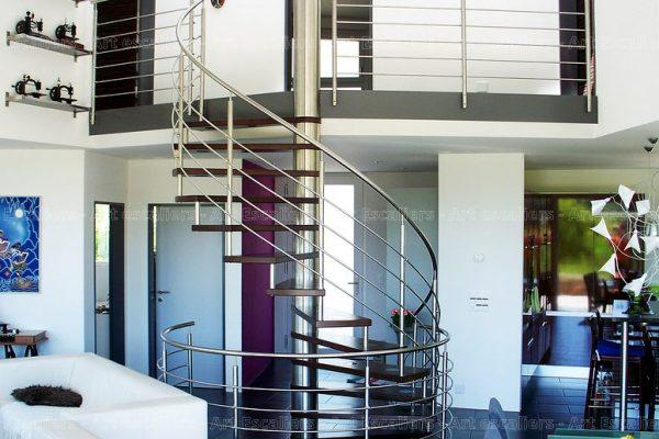 escalier_fut-central_helicoidal_inox_bois-teinte_01-artescaliers