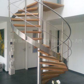 escalier_fut-central_limon-inox_helicoidal_inox_bois-hetre-artescaliers