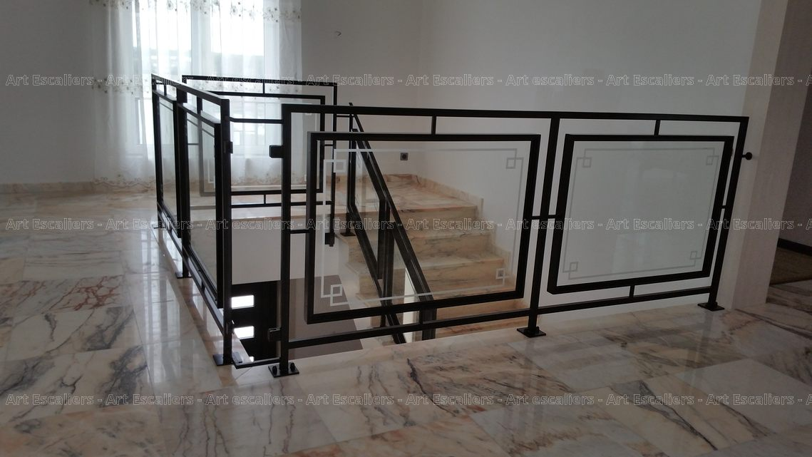 garde corps horizontal galerie photos art escaliers. Black Bedroom Furniture Sets. Home Design Ideas