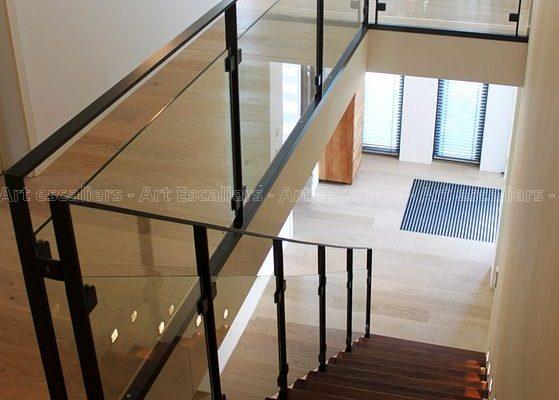 GARDE-CORPS horizontal galerie photos - Art Escaliers