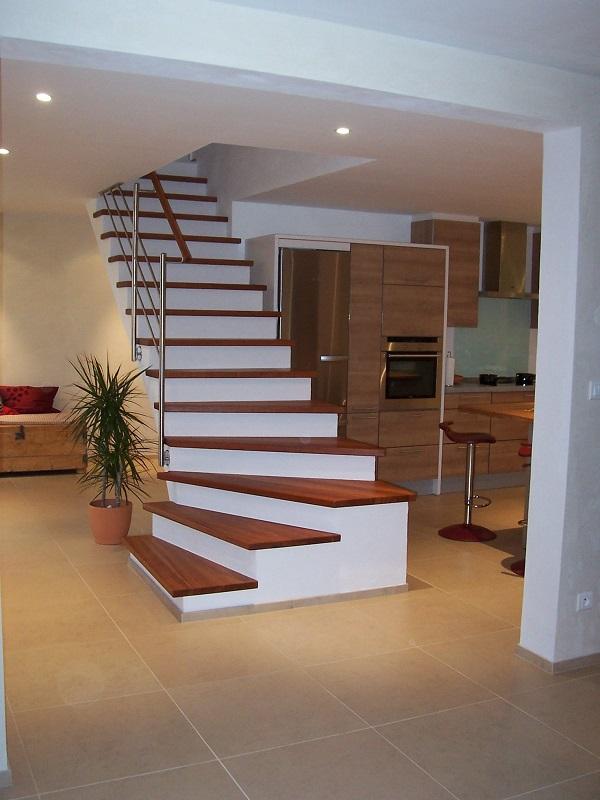 habillage des marches galerie photos art escaliers. Black Bedroom Furniture Sets. Home Design Ideas