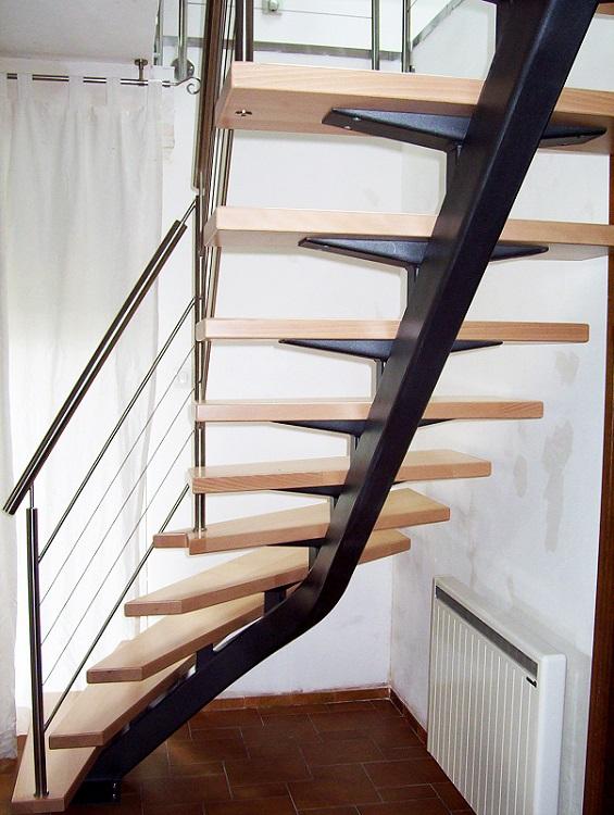 """""""Mastro"""", escalier limon central - Art Escaliers"""