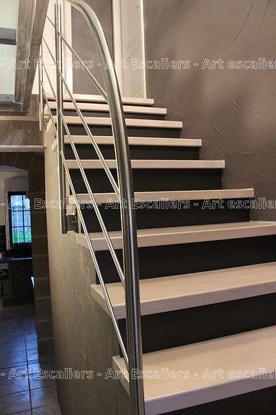 11 habillage de marche design art escaliers. Black Bedroom Furniture Sets. Home Design Ideas