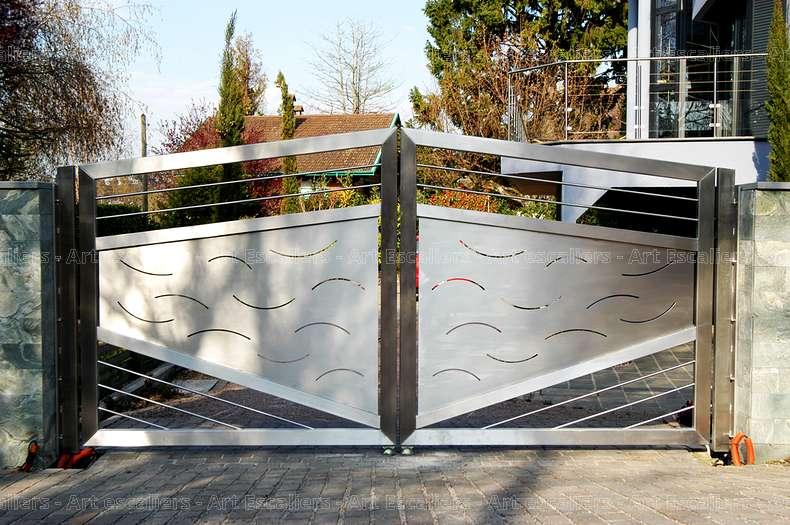 37 garde corps horizontaux exterieur bois verre inox laque acier art escaliers. Black Bedroom Furniture Sets. Home Design Ideas