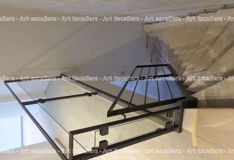 4 escalier traditionnel bois inox acier art escaliers - Escalier acier bois ...