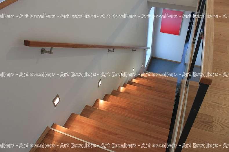 Main courante galerie photos art escaliers - Main courante escalier exterieur ...