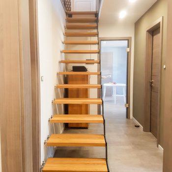Art Escaliers métal et bois FERA