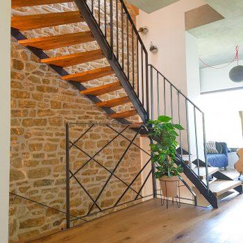 escalier-fin-bois-acier