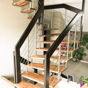 escalier suspendu lissa