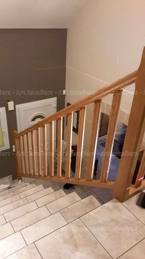 habillage garde corps passerelle rurange l s thionville art escaliers. Black Bedroom Furniture Sets. Home Design Ideas
