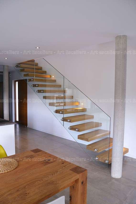 escalier autoporteur lessy 2 art escaliers. Black Bedroom Furniture Sets. Home Design Ideas