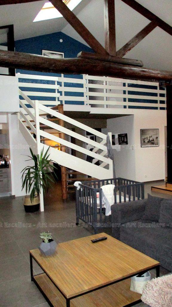 rénovation escalier avant-après