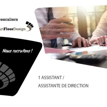 Art Escaliers recrute dans le 57 un(e) assistant(e) de direction