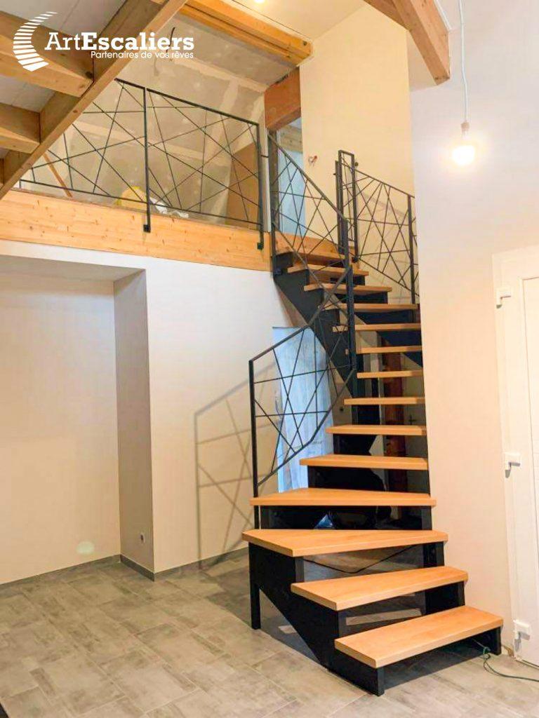 escalier-limon-cremaillere-bois